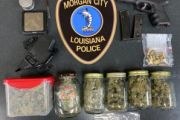 MCPD Search Warrant Leads to Recovery of Stolen Gun and Narcotics