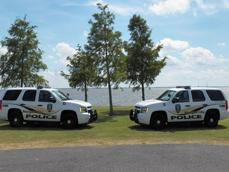 Morgan City Police Cars